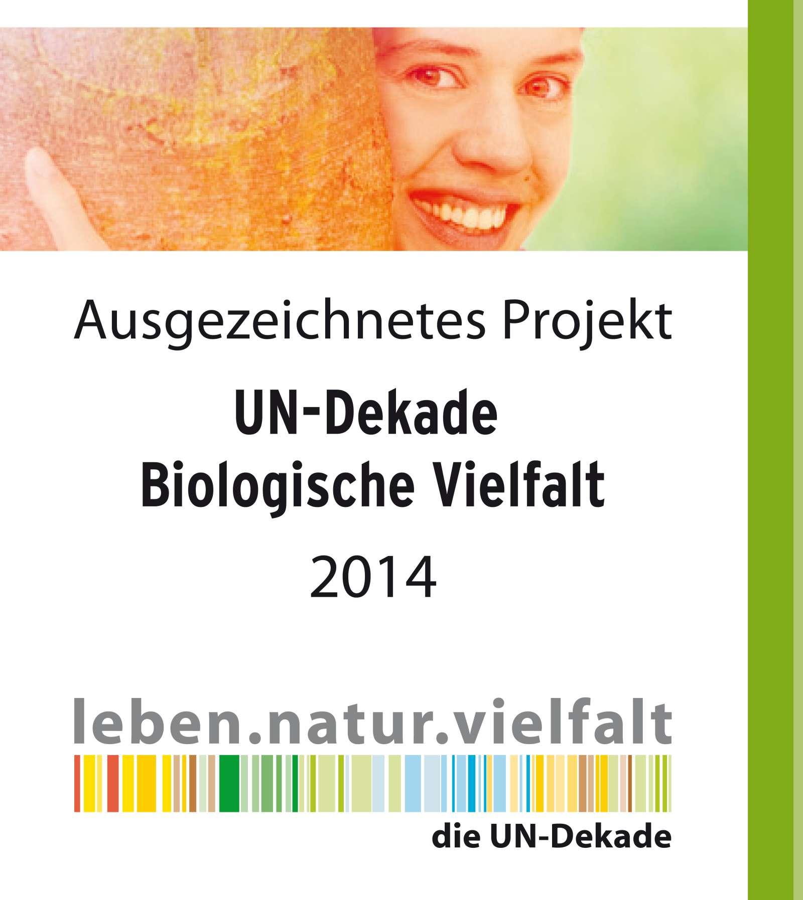 UN-Banner Bilogische Vielfalt