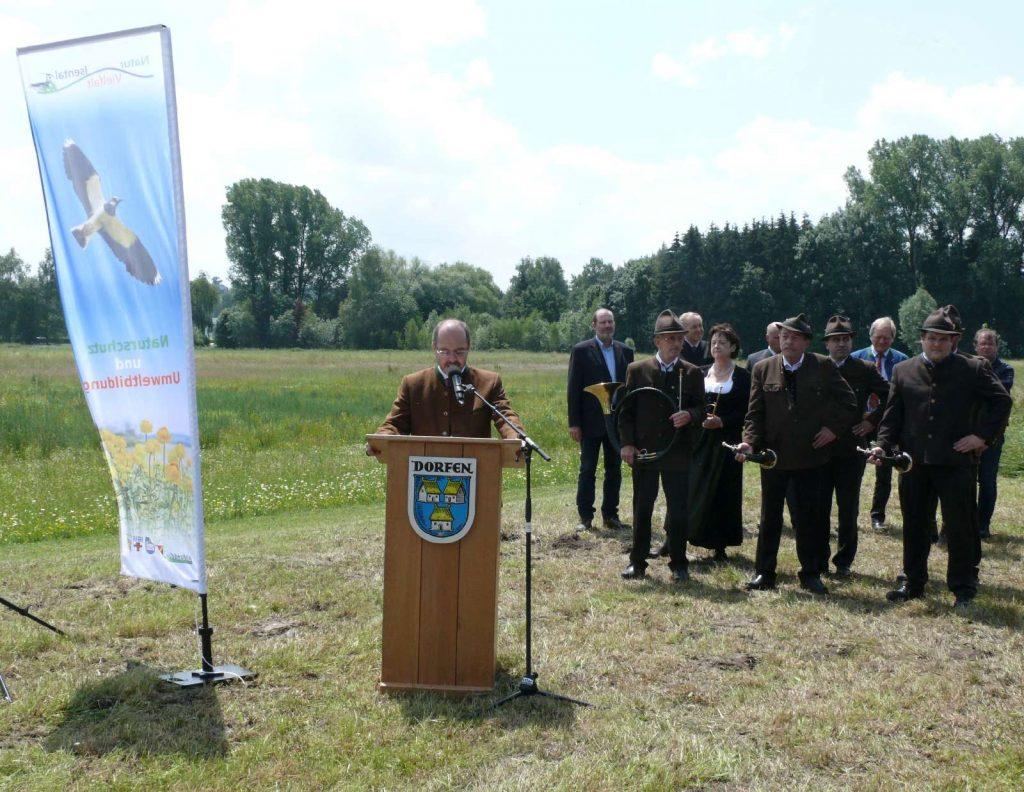 Grußworte des Bürgermeisters der Stadt Dorfen Heinz Grundner